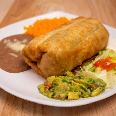 Chimichanga Platter